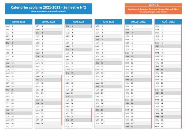 Calendrier Universitaire Grenoble 2022 2023 Vacances scolaires Grenoble   Calendrier scolaire 2020 2021 et